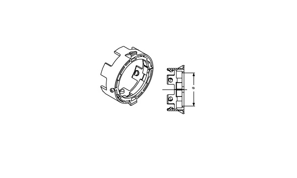 PTO SHAFT PARTS COMER - RETAINING COLLAR