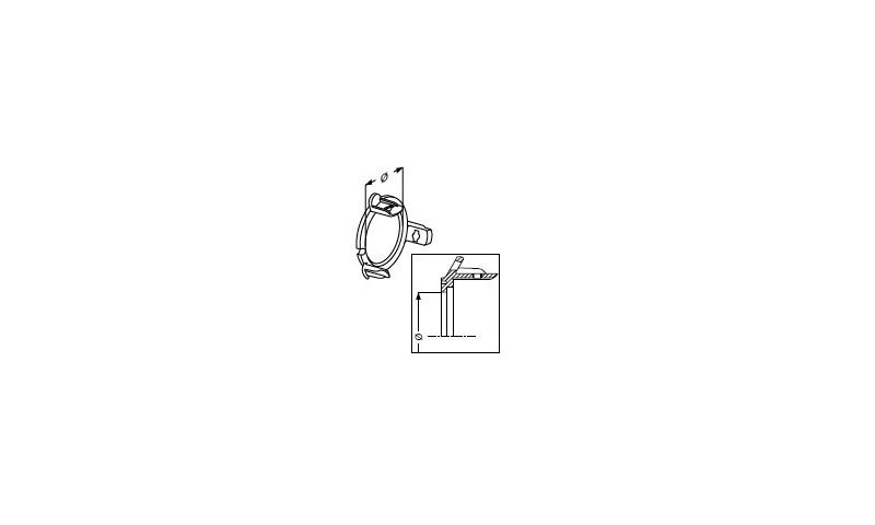 Inner retaining collar (old type) T50 54.5mm dia