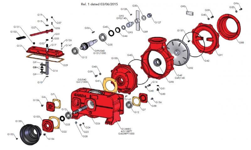 Pump Front Flange Gasket