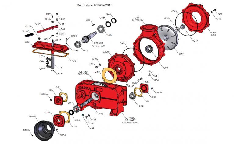 M32 x 2 Lock Nut