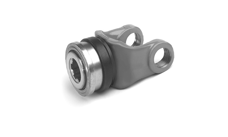 "T60 Type 1 3/8"" 6 Spline QR Collar type Yoke End"