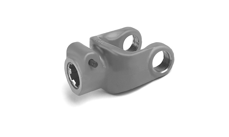 "T80 Type 1 3/4"" 6 Spline QR Push Pin type Yoke End"