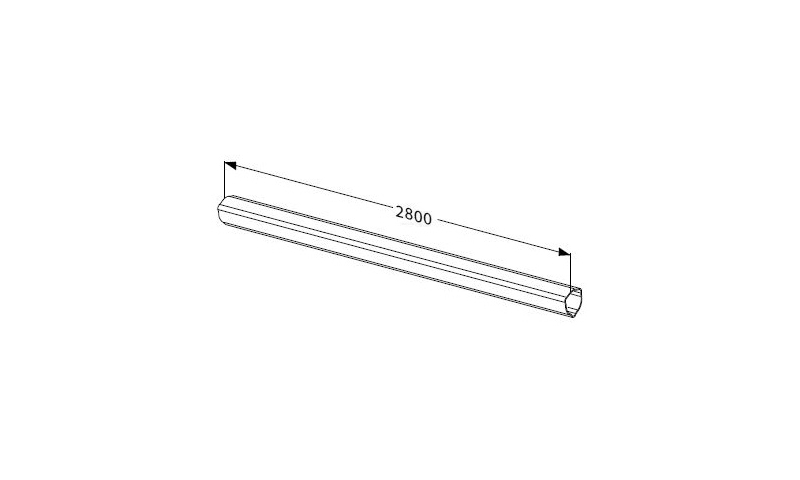 Inner Profile tube T seres T20 L:2800mm