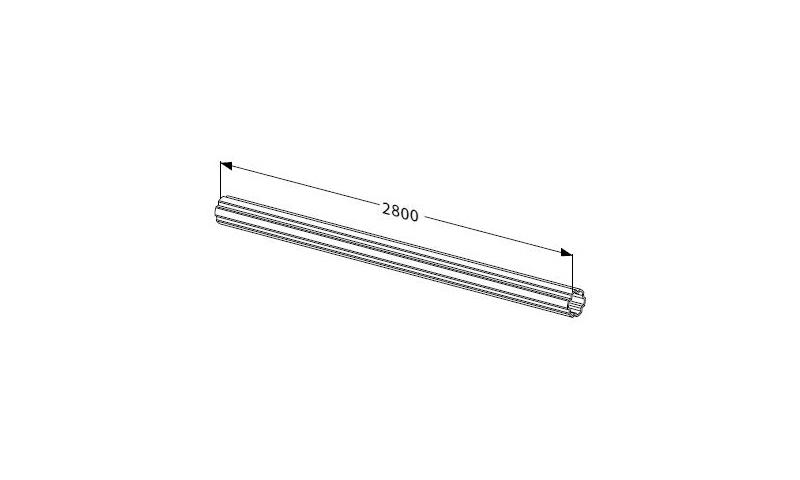 Inner Profile tube V seres T80 L:2800mm