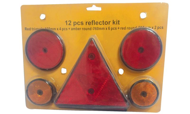 Reflector Set 12 piece