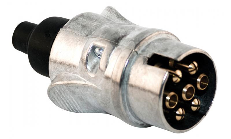 7 Pole Metal Plug 12v