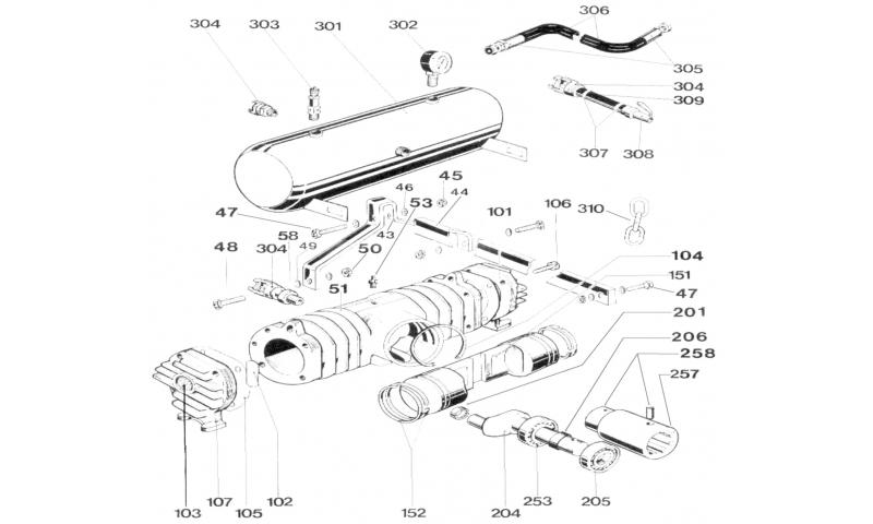 Piston Drive Shaft to suit FER7100