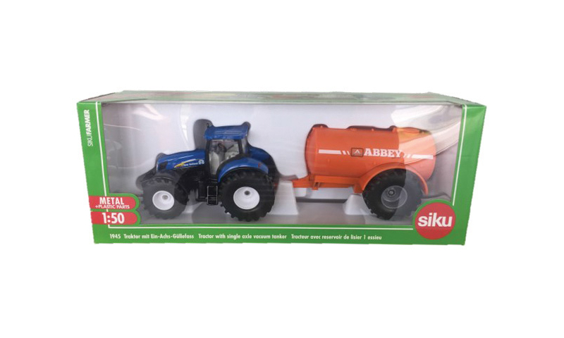 Siku Tanker & New Holland Tractor