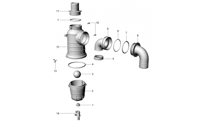 O-Ring for 80m Siphon Valve
