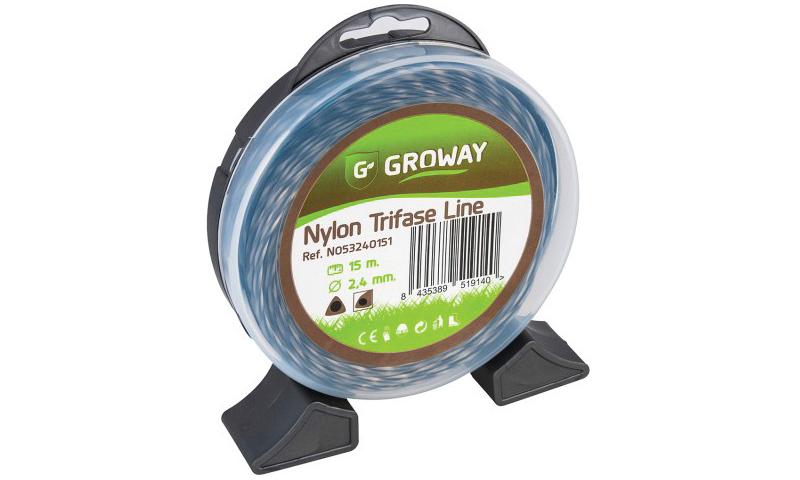 2.4mm X 35mtr Nylon Trifase Line