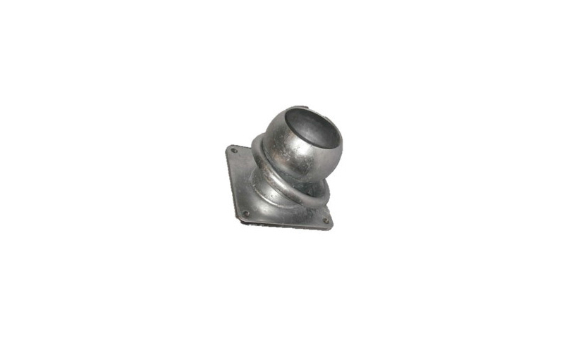 100mm Male Fitting Complete with Flange