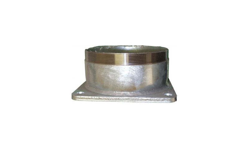 100mm Threaded Pipe to Flange