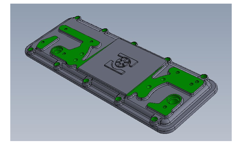 GEARBOX TOP-COVER FOR EVO PUMP