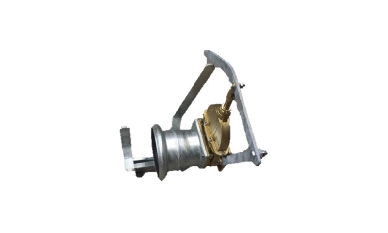 """6"""" Light Gate Valve Double Flange Complete with Handle"""