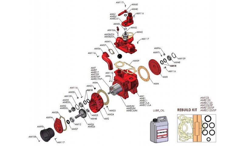 MEC Pump Bearing (6307) MECAM12