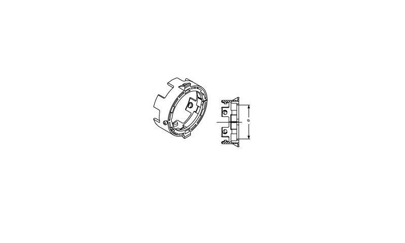 Inner retaining collar (new type) T60 60mm dia