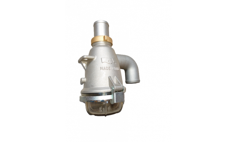 RIV360 Aluminium Siphon With Straight Hose Connection