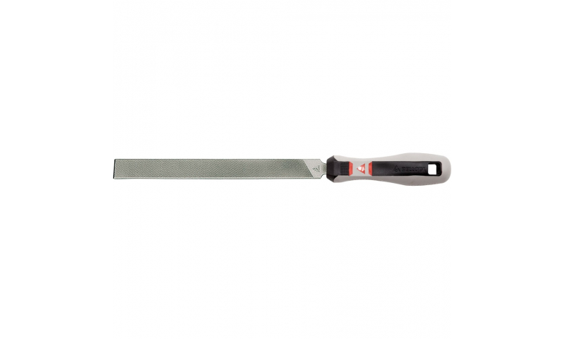 Flat Parallel File Saw One Rounded Edge