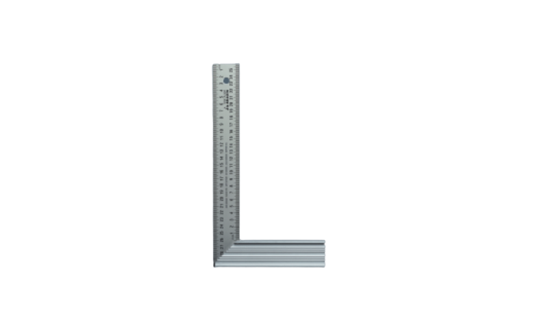 STAINLESS STEEL SQUARE 400MM X 165MM