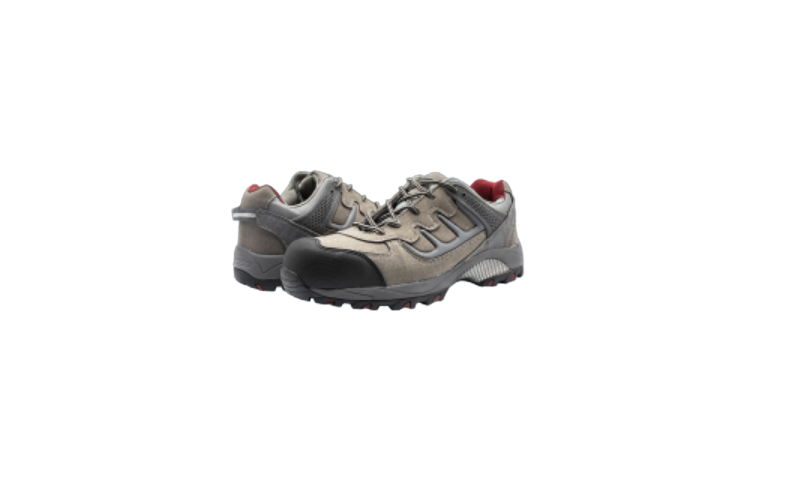 SIZE 12 TRAIL GREY SAFETY SHOES