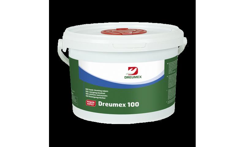 DREUMEX 100 4 X 100 WIPES PER CARTON