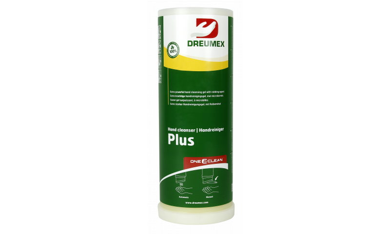 DREUMEX PLUS HAND CLEANER 4 X 3LTR CARTON ONE2 CLEAN CARTRIDGE