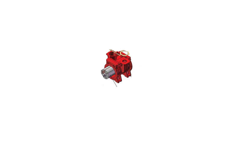 MEC 5000 Pump Rotor Housing